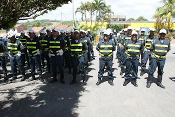 Policiais da CPRv em forma