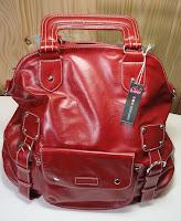 Namaste Laguna knitting bag in Red