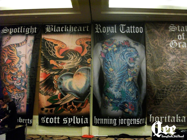 Qee blog san jose tattoo convention for Tattoo expo san diego