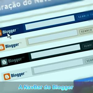 A NavBar do Blogger