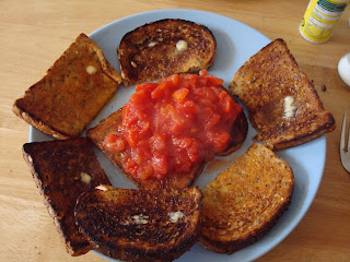 Man !: Tomatoes on Toast, Beans on Toast, Pasta & Homemade Cakes