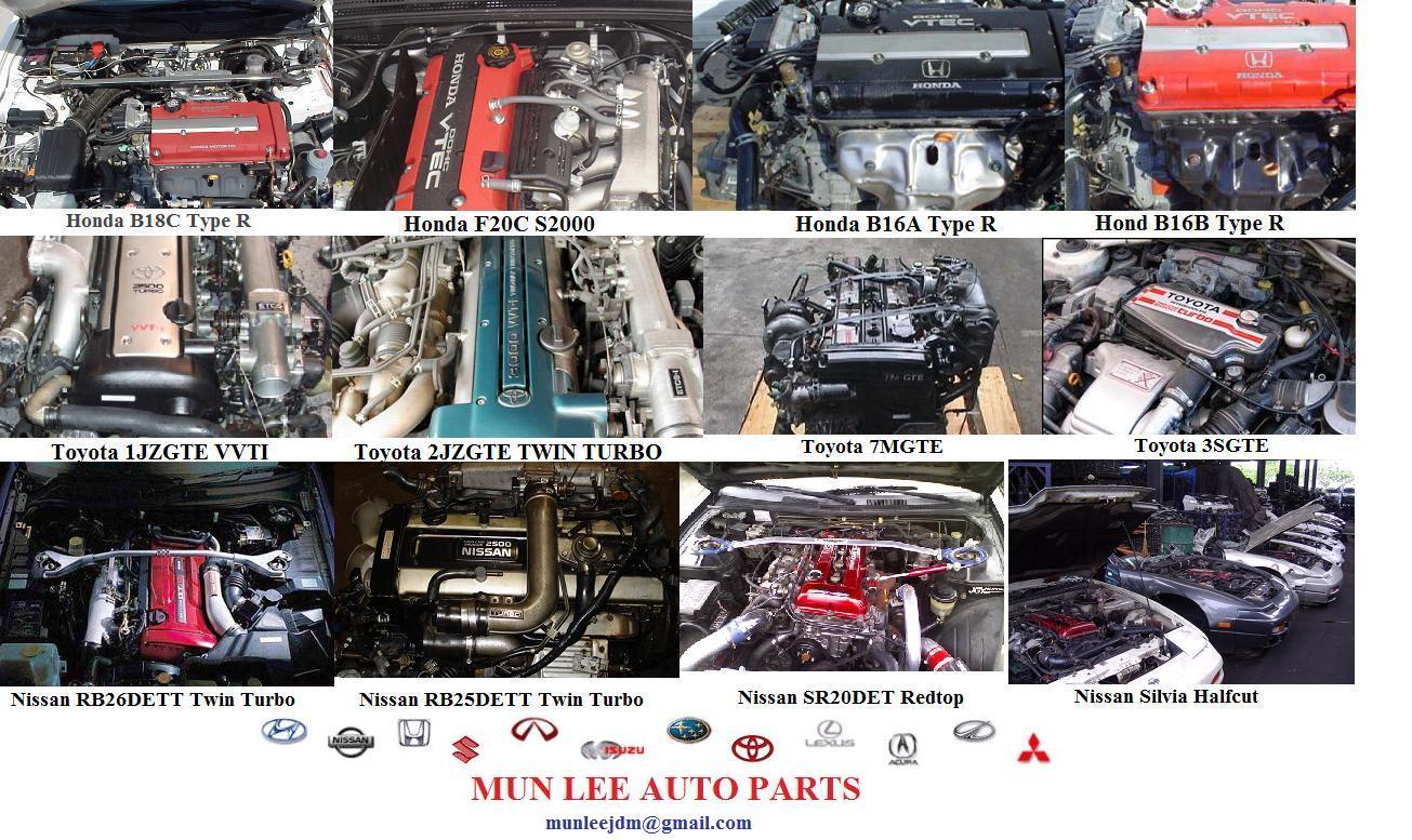 Mun Lee Auto Parts Japan Jdm Used Engines