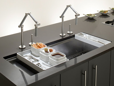 ... Sink Design on Modern Kitchen Design Modern Stainless Kitchen Sink
