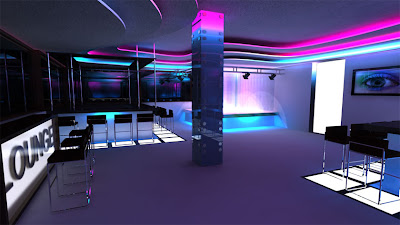 Attractive Bar Interior Design Interior Designs