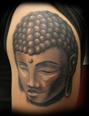 Religious Tattoos, Budhis Tattoo Design
