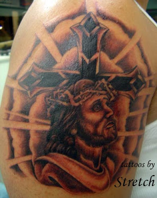 Religious Tattoo, Cross Tattoo