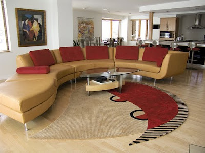 Modern Swivel Chairs  Living Room on Home Interior Design  Modern Living Room Furniture Set Pictures
