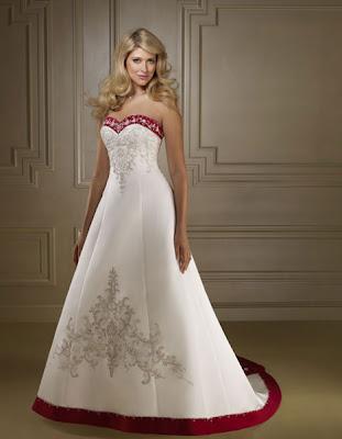 Fall winter wedding dresses