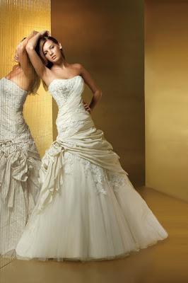 Best strapless wedding dress