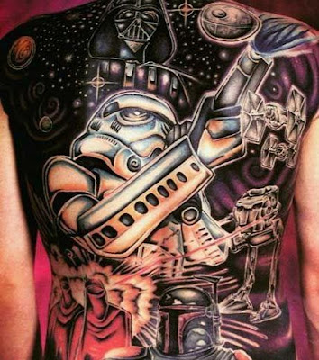 Star Wars Tattoo Picture