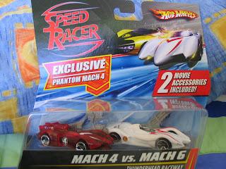 Hot Wheels Speed Racer Racer X Mach 4 5 6