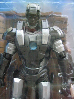 Marvel Select Borders Exclusive Iron Man Mark IV armor Tony Stark Robert Downing Jr Warmachine James Rhondes