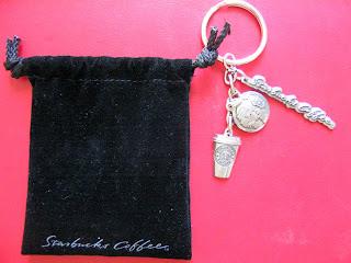 Starbucks key chain Chinese New Year of tiger ang pau hong bao red packet