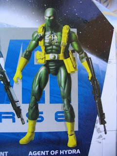 Marvel Universe Soldiers Henchmen Hydra SHIELD Hand Ninja