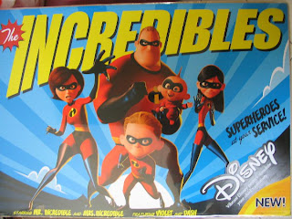 Mr Incredible Elastigirl Violet Dash Jack Jack Disney Incredibles movie posters Pixar