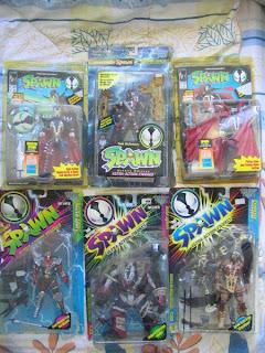 Alien Commando Deluxe figures McFarlane Medieval Nuclear Renegade Spawn Ultra Action