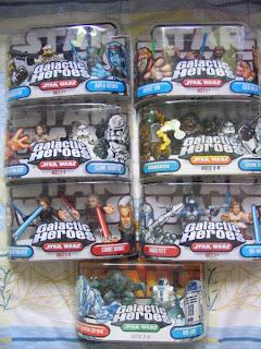 Star Wars Galactic Heroes Prequels Clone Wars Luke Skywalker Count Dooku Chewbecca  Trooper  Saesee Tiin Agen Kolar Commander Bly  Aayla Secura Jango Fett Obi-Wan Kenobi Super Battle Droid R2-D2
