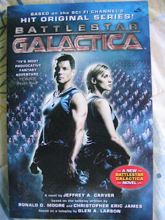 Battlestar Galactica Novel Jeffrey A Carter Apollo Starbuck