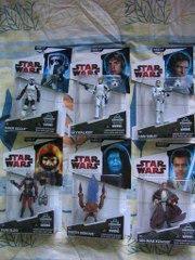 Star Wars BAD Build A Droid L8-L9 Complete Set Lot Han Solo Luke Skywalker Obi-Wan Kenobi Biker Scout Rum Sleg Darth Sidious Sith Lord