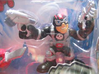 Spider-man super hero squad Daredevil Electra Punisher Ghost Rider
