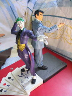 DC JLU Universe BATMAN TWO FACE JOKER Kia Asami Direct Halloween
