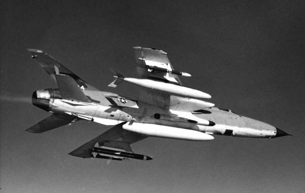 "Republic F-105G Thunderchief ""Wild Weasel"""
