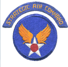 Strategic Air Command Patch (Original)