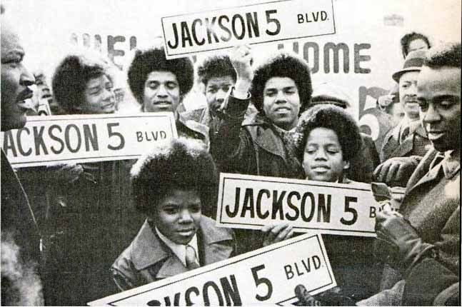 Michael jackson for all time today in mjj history for Jackson 5 mural gary indiana