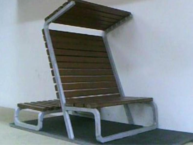 Bernab bret maqueta mobiliario urbano for Muebles de oficina 3d max