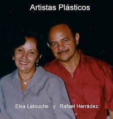 Elsa Latouche y Rafael Herrádez.