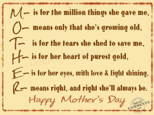 Happy Mother's Day, bundaaa.. Loveyou ♥