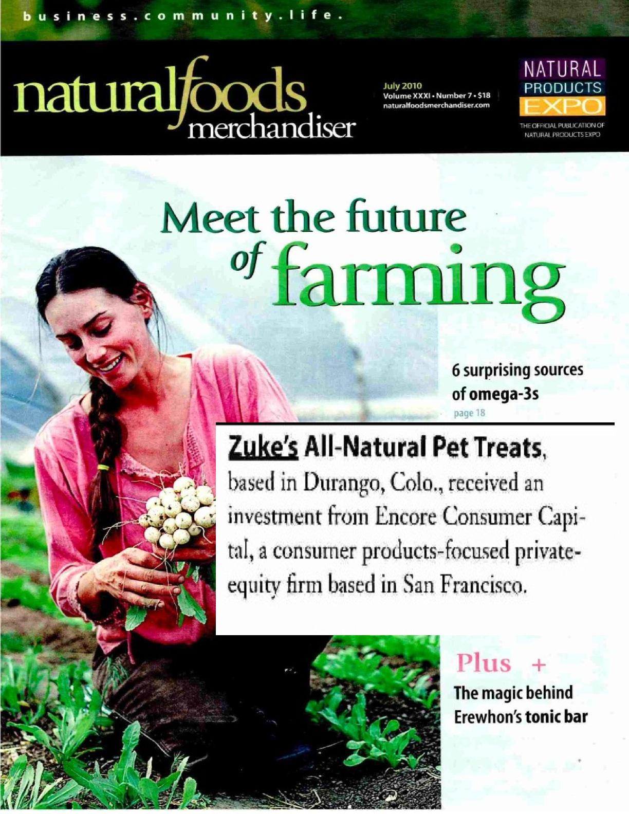 Natural Foods Merchandiser Magazine