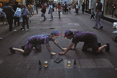 Amazing 3D Picture/Painting On Sidewalk