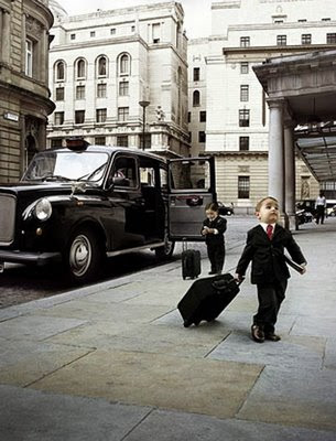 two-kids-girl-boy-in-professional-suit-carrying-office-bag-limousine