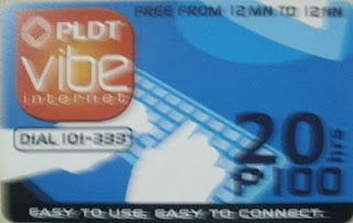PLDT Vibe Card