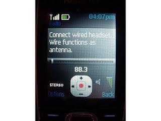 Nokia 2323 Radio