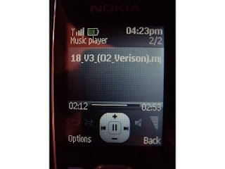 Nokia 2323 Music Player
