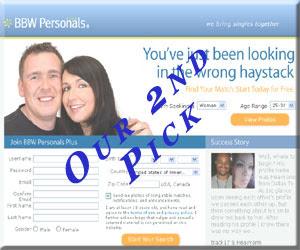 BBWPersonalsPlus.com is a quality BBW Dating Site.