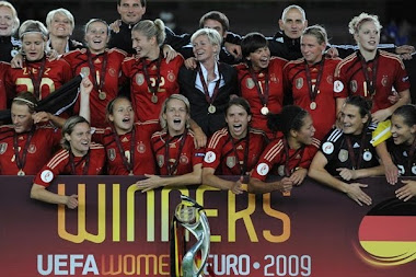 ALEMANIA CAMPEONA COPA UEFA FEMENINA FINLANDIA 2009