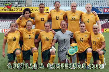 SELECCIN FEMENINA DE AUSTRALIA-CAMPEONAS DE LA AFC WOMEN&#39;S ASIAN CUP