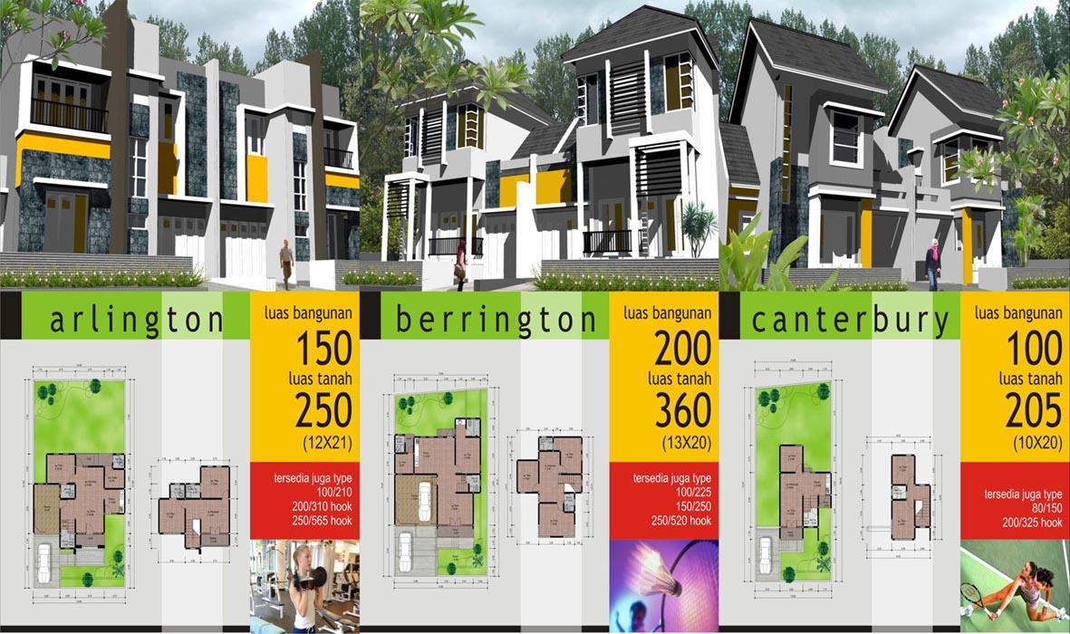 Model dan Type Rumah 2 Lantai