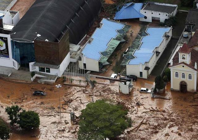 Destruição no estado do Rio