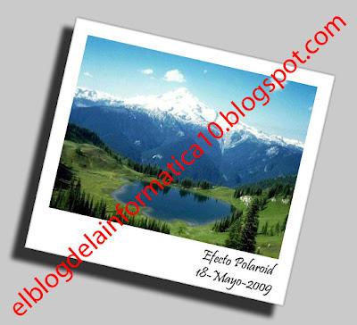Crear efecto foto polaroid con Photoshop