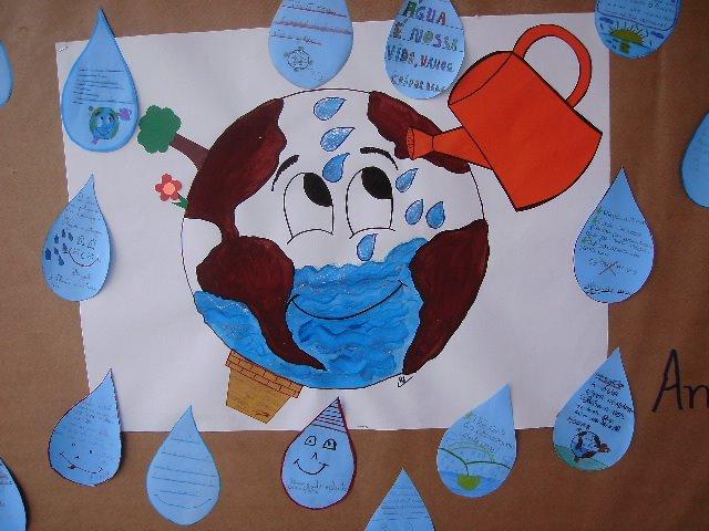 Compromisso com a educa o dia do meio ambiente for Mural sobre o meio ambiente