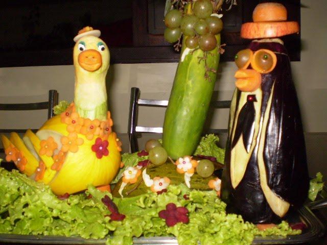 Enfeite De Frutas ~ DECORA u00c7 u00d5ES DE FESTAS Enfeites de frutas e saladas