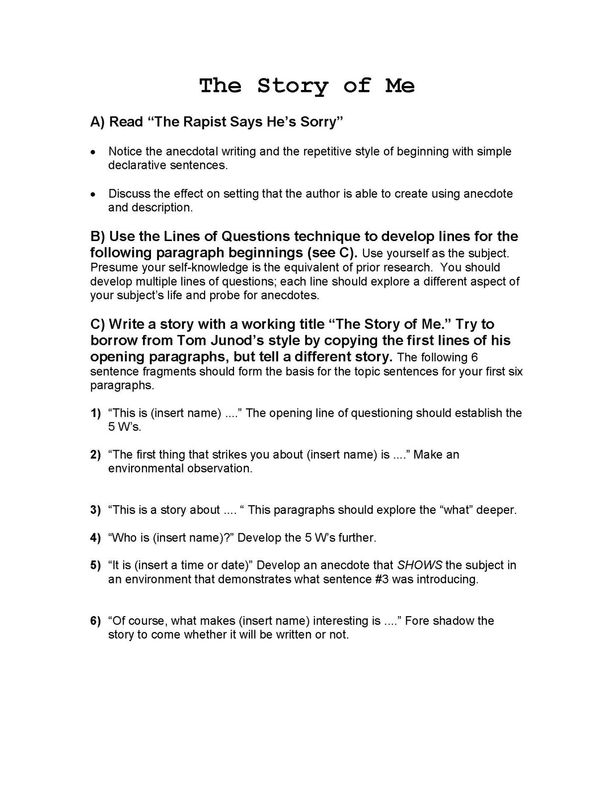 Before you begin: useful tips for writing your essay