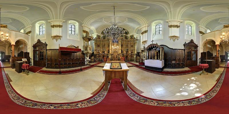 Szentendre Belgrád székesegyház gömbpanoráma