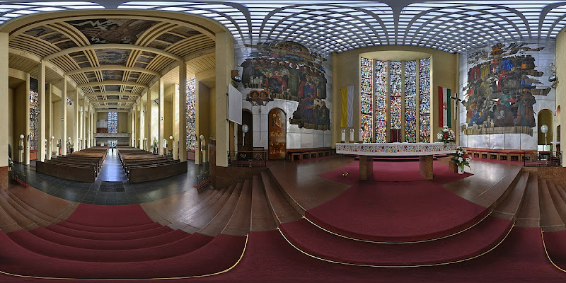 Városmajori templom - virtuális túra