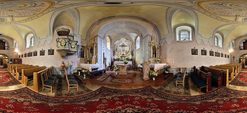 Pilisszentkereszt templom gömbpanoráma