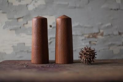 Vintage Wood Shakers